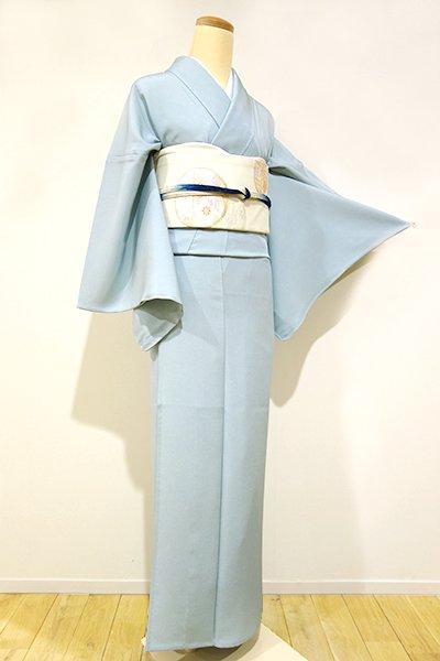 銀座【C-1048】単衣 江戸小紋 秘色色 鮫(しつけ付・新品)