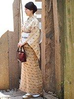 【着物1922】国指定重要無形文化財 喜如嘉の芭蕉布 (証紙付・しつけ付)