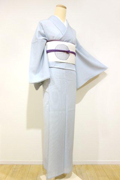 WEB限定【C-1095-2】絽 江戸小紋 月白色 万筋(新品・しつけ付)