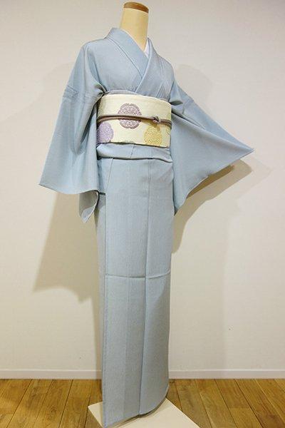 WEB限定【C-1123】単衣 江戸小紋 秘色色 万筋(しつけ付・新品)