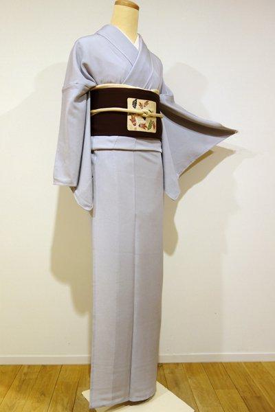 WEB限定【C-1141】単衣 江戸小紋 紫水晶 鮫(しつけ付・新品)