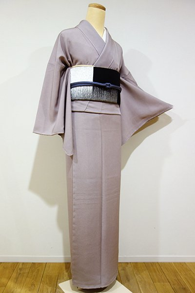 銀座【C-1160】(L) 江戸小紋 胡桃染色 鮫(しつけ付)