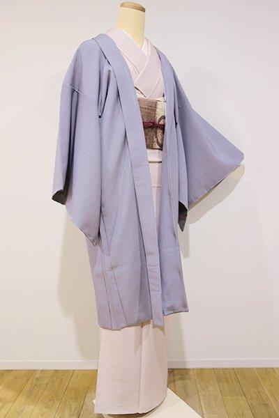 世田谷【E-715】羽織 濃色 万筋(新品・しつけ付)