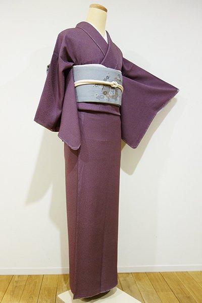 銀座【C-1226】↓Sサイズ↑江戸小紋 蒲葡色 鮫(しつけ付)