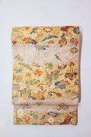 銀座【帯2560】西陣 山城機業店製 袋帯