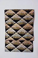 【帯2601】西陣 河合美術織物製 絽袋帯 (未使用)