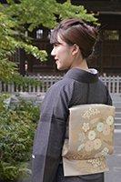 銀座【帯2618】西陣 川島織物製 紗袋帯