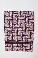 【帯2689】草紫堂製 南部絞紫根染 名古屋帯