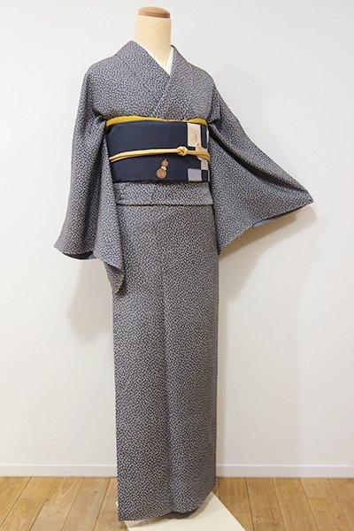 銀座【D-2007】↑Sサイズ↓渡部雪三郎 小紋 墨色 幾何文