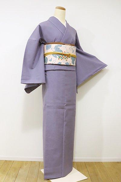 銀座【A-2556】トールサイズ←ユッタリ→ 紬 半色 無地(しつけ付)