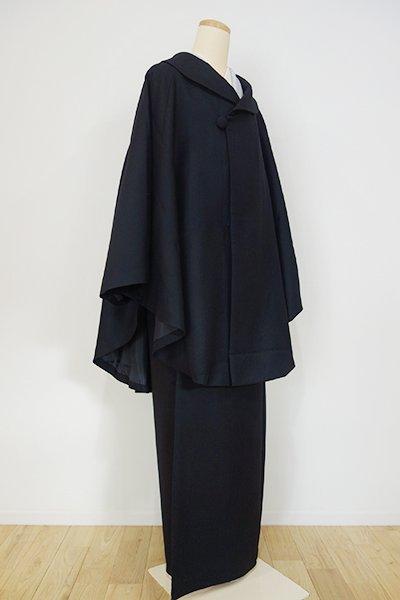 WEB限定【E-725-2】二部式コート ブラック(新品)