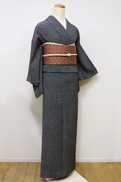 あおき【C-1497】江戸小紋 黒色 鮫