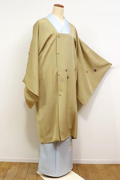 銀座【E-951】道行コート 枯色 装飾丸文