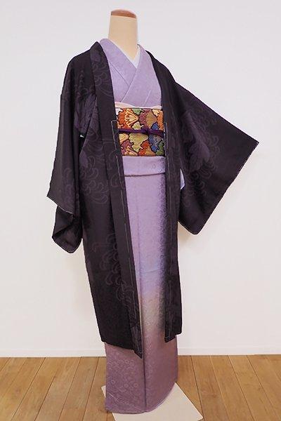 銀座【E-957】羽織 鉄黒色 菊の図