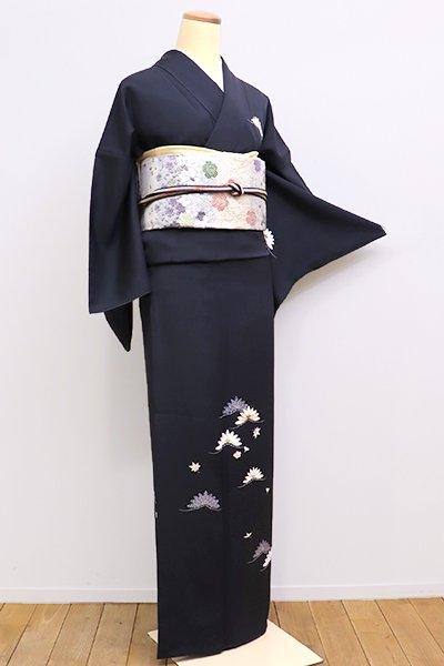 銀座【B-2073】←ユッタリ→付下げ 羊羹色 松の図
