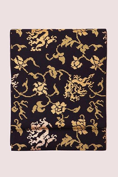 銀座【帯2895】龍村平蔵製 本袋帯 「珠光瑞龍文」