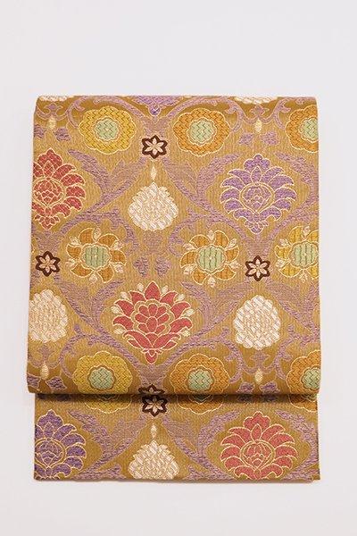 銀座【帯2909】西陣 帯屋捨松製 袋帯「イタリー装飾文」