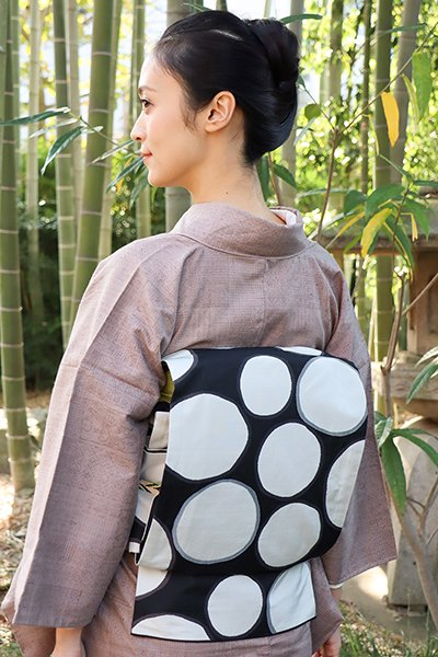 銀座【帯2915】西陣 今河織物製「木屋太」袋帯