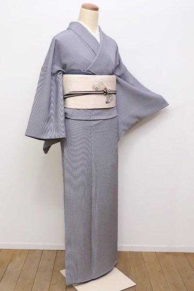 銀座【C-1569】江戸小紋 黒色 万筋