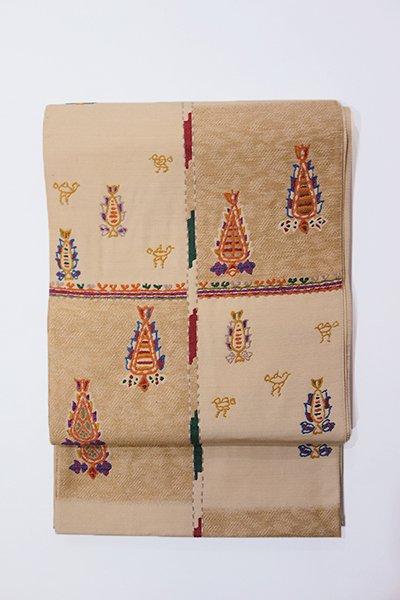 銀座【帯2949】西陣 帯屋捨松製 袋帯 (未使用)