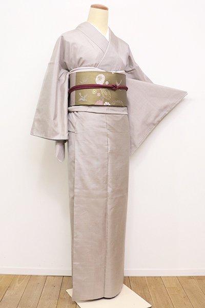 銀座【A-2744】(S)大島紬 淡い枯野色 小絣
