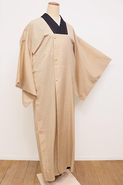 銀座【E-1014】薄物 道行コート 砥粉色 吉野格子