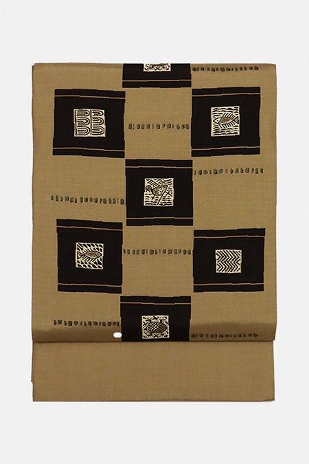 銀座【帯2952】西陣 今河織物製「木屋太」袋帯 (証付)