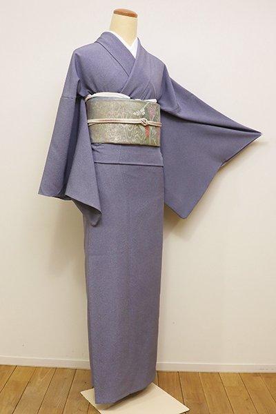 銀座【C-1592】単衣 江戸小紋 紅掛花色 鮫