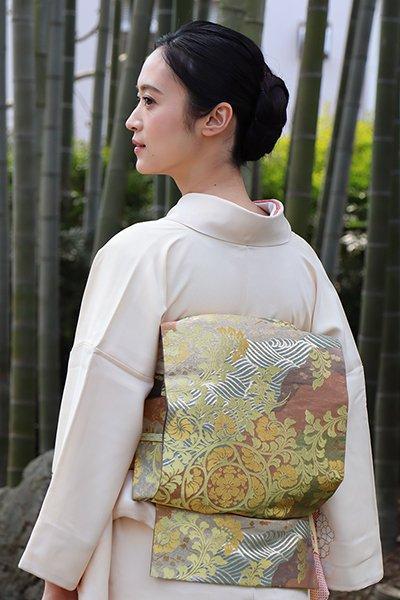 銀座【帯2968】西陣 川島織物製 本袋帯