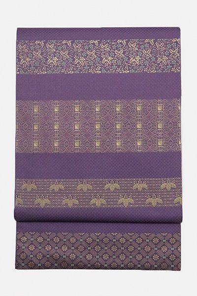 銀座【帯2988】西陣 川島織物製 本袋帯 本金 加良錦