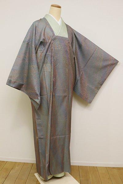 銀座【E-1051】紋紗 道行コート 多彩な斜め暈かし