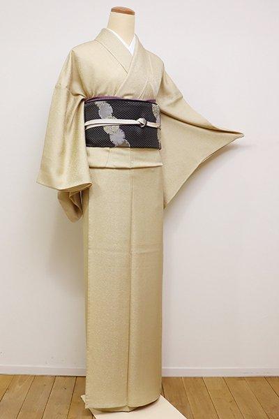 銀座【C-1626】単衣 江戸小紋 砥粉色 大小霰(しつけ付・新品)