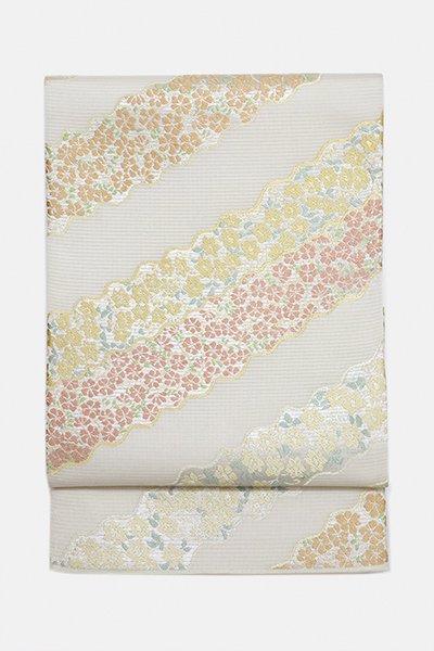 銀座【帯3035】西陣 川島織物製 絽 本袋帯