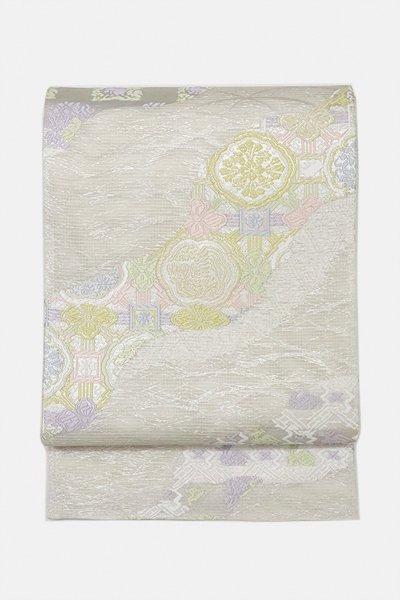 銀座【帯3060】西陣 洛陽織物製 夏袋帯 (西陣証紙付)