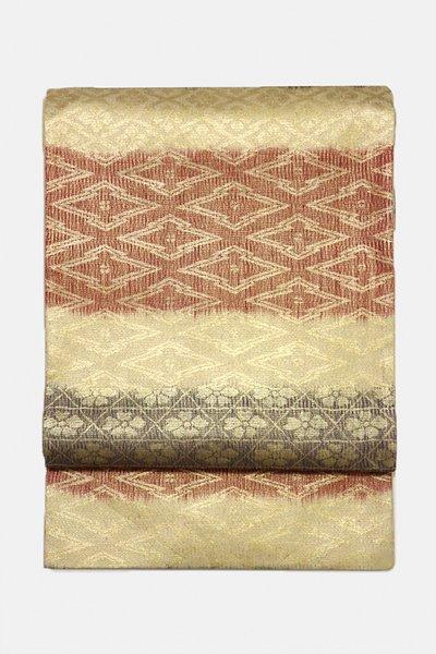 銀座【帯3061】西陣 紋屋井関製 御寮織 袋帯