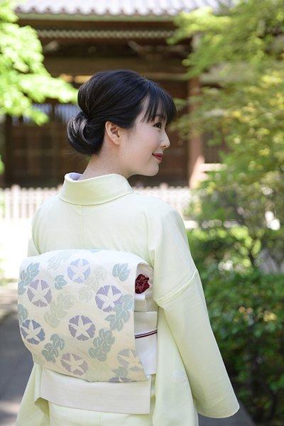 銀座【帯3062】西陣 川島織物製 夏名古屋帯