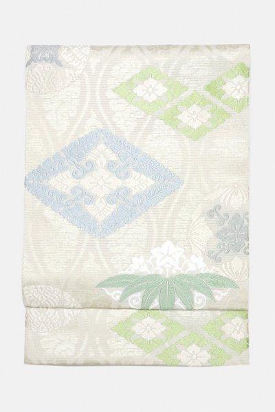 銀座【帯3071】西陣 川島織物製 夏袋帯