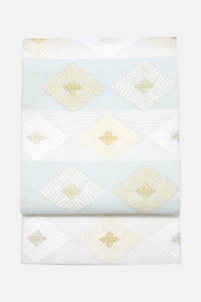 銀座【帯3074】西陣 藤原製 絽 唐織 袋帯