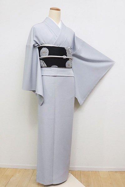 あおき【C-1679】(M・広め)絽 色無地 淡藤色