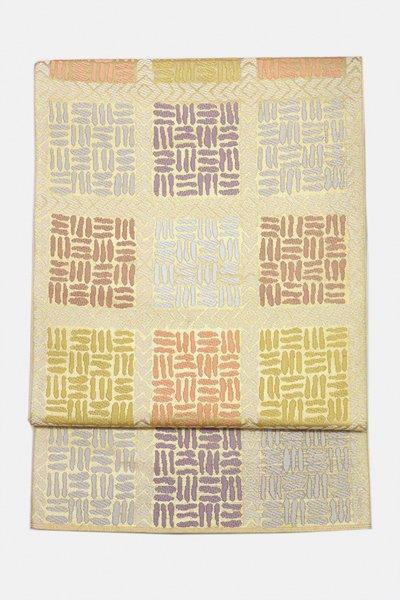 銀座【帯3092】西陣 川島織物製 本袋帯