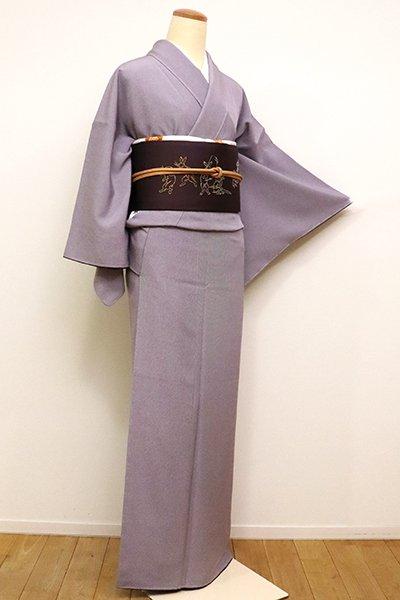 銀座【C-1695】(S・広め)江戸小紋 滅紫色 万筋
