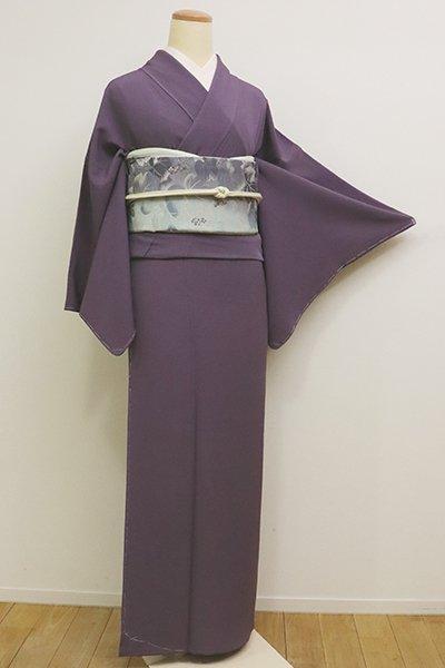 銀座【C-1699】(S・広め)色無地 深紫色