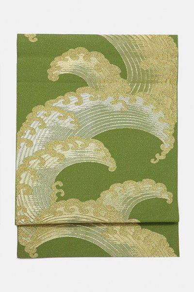 銀座【帯3105】西陣 川島織物製 本袋帯