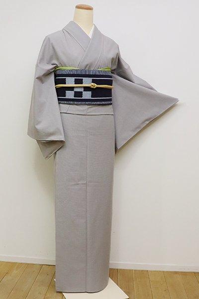 銀座【A-2924】東郷織物製 薩摩絣 微塵格子 (反端付)