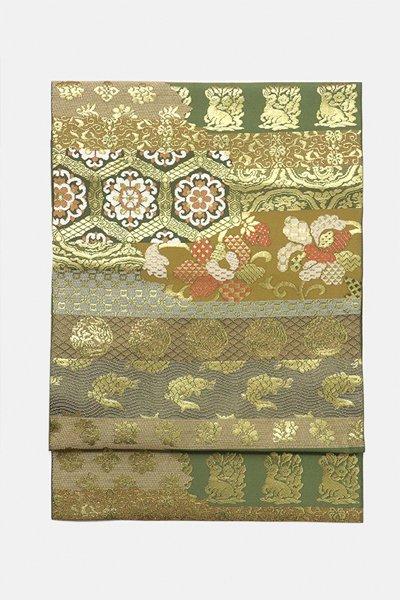 銀座【帯3127】西陣 川島織物製 袋帯