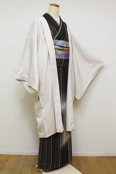 銀座【E-1091】羽織 素色 菱の地紋(反端付)
