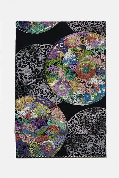 あおき【帯3135】西陣 山城機業店製 袋帯 (落款入)