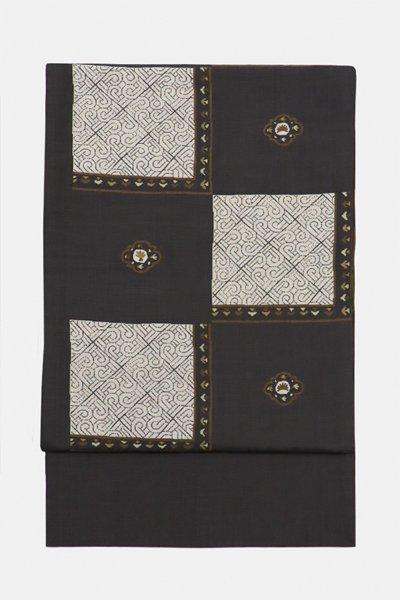 銀座【帯3143】西陣 今河織物製「木屋太」袋帯