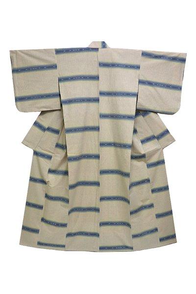 銀座【着物2600】日本工芸会正会員 真栄城興茂作 琉球美絣 木綿着物