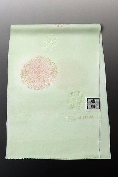 銀座【G-1370】京都衿秀 帯揚げ 夏虫色 華文(N)